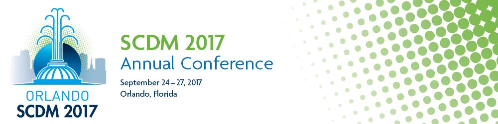SCDM 2017 Annual Conference 2