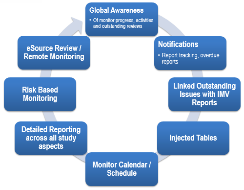 Monitor Visit Report Overview