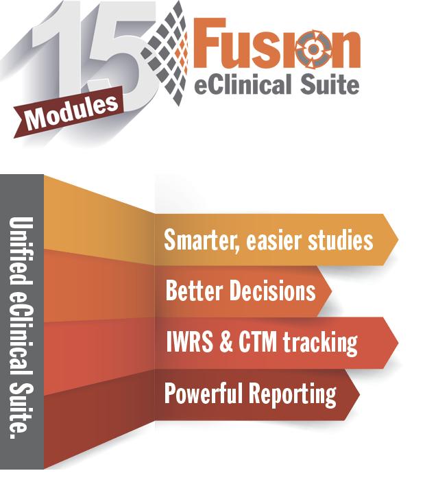 Fusion eClinical Suite logo