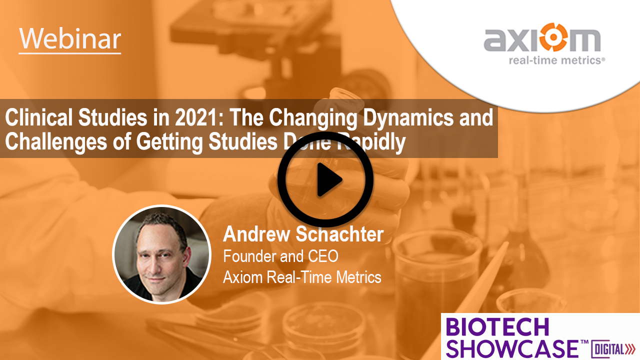 WEBINAR: Clinical Studies in 2021: The Changing Dynamics and Challenges of Getting Studies Done Rapidly