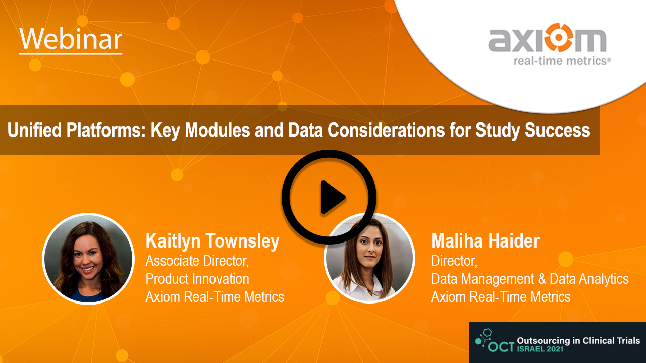 WEBINAR: Unified Platforms: Key Modules and Data Considerations for Study Success
