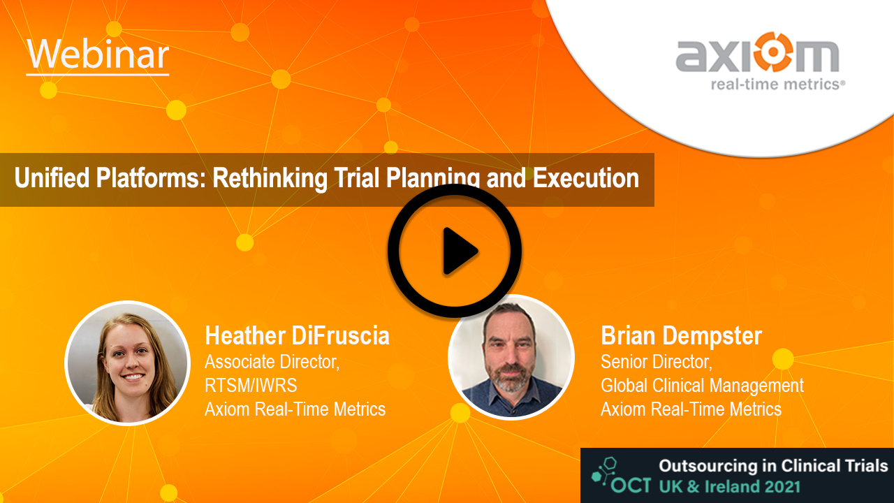 WEBINAR: Unified Platforms: Rethinking Trial Planning and Execution